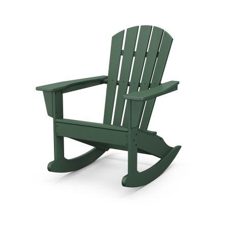 Palm Coast Adirondack Rocking Chair in Green