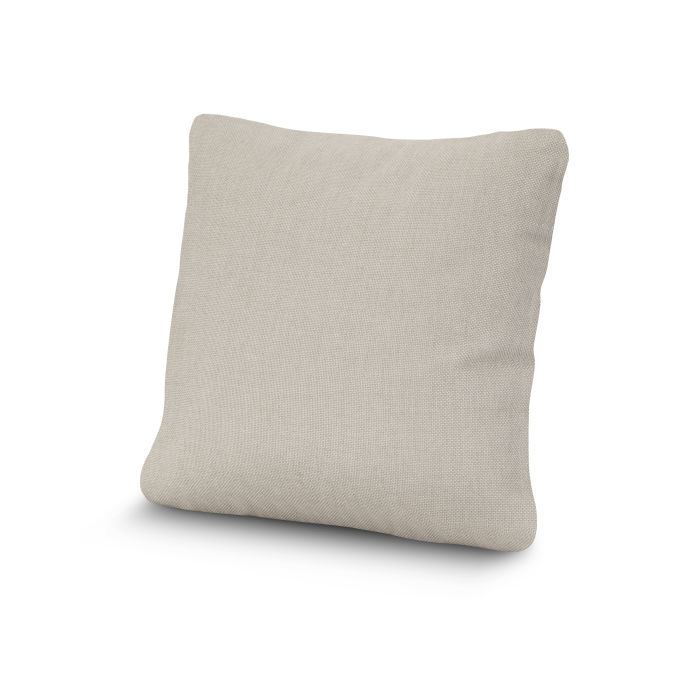 """20"""" Outdoor Throw Pillow by POLYWOOD® in Essential Sand"""
