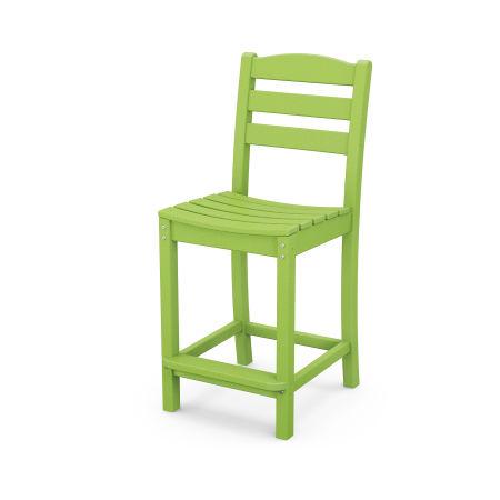 La Casa Café Counter Side Chair in Lime