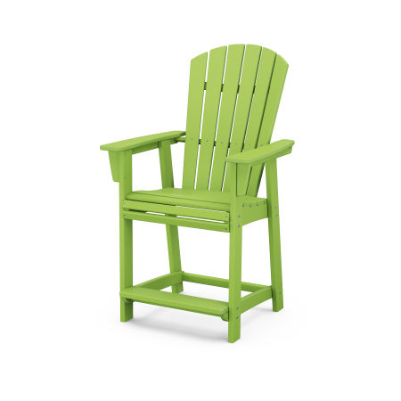 Nautical Adirondack Counter Chair in Lime