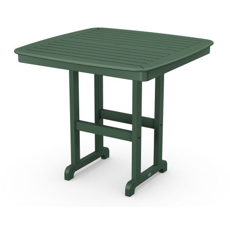 """Nautical 44"""" Counter Table in Green"""