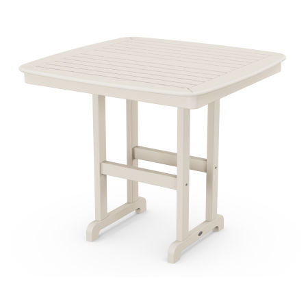 """Nautical 44"""" Counter Table in Sand"""
