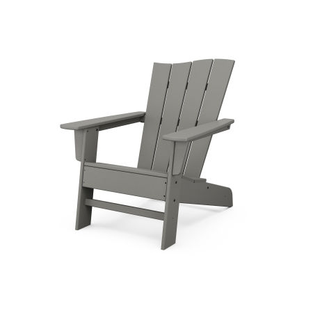 The Wave Chair Right in Slate Grey