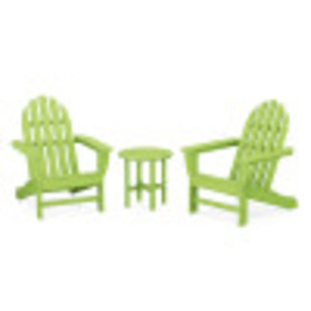 Classic Adirondack 3-Piece Set in Lime
