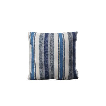 """18"""" Outdoor Throw Pillow in Hamptons Stripe"""