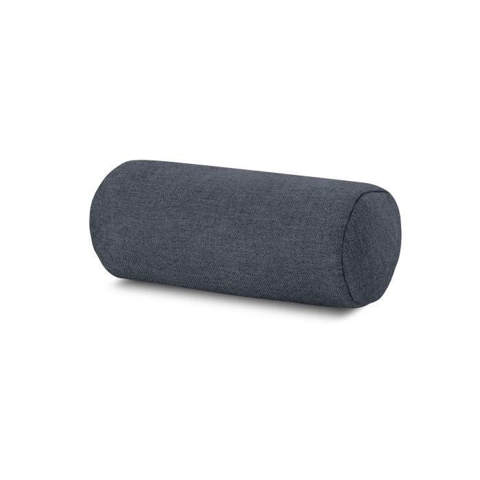 Outdoor Bolster Pillow in Sancy Denim