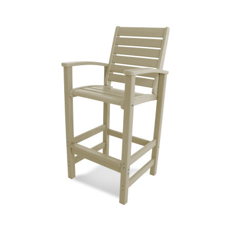Signature Bar Chair in Sand