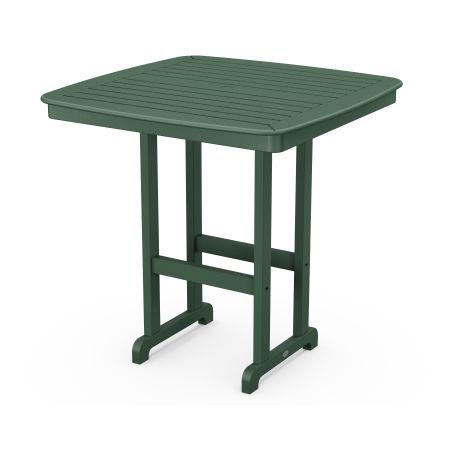 "Nautical 44"" Bar Table in Green"