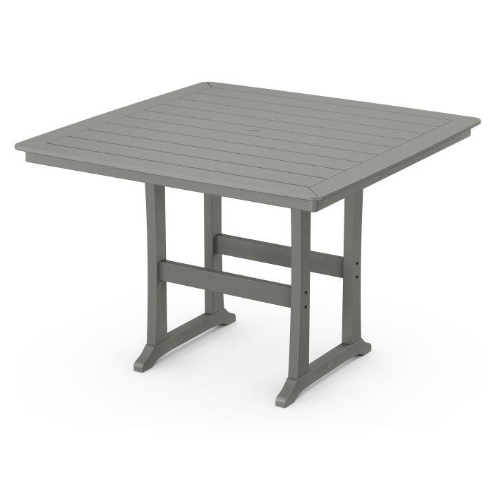 "Nautical Trestle 59"" Bar Table"
