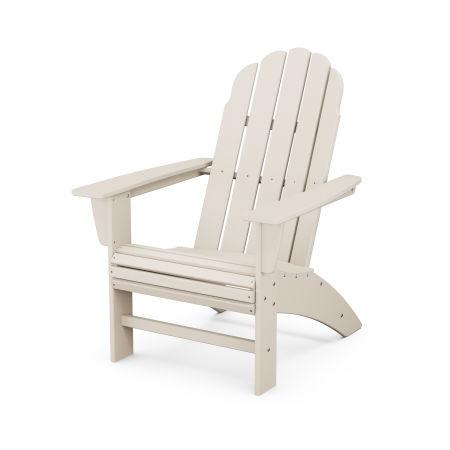 Vineyard Curveback Adirondack Chair in Sand