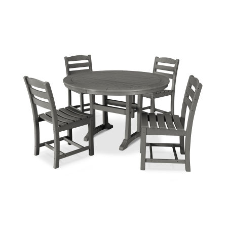 La Casa Café 5 Piece Side Chair Dining Set