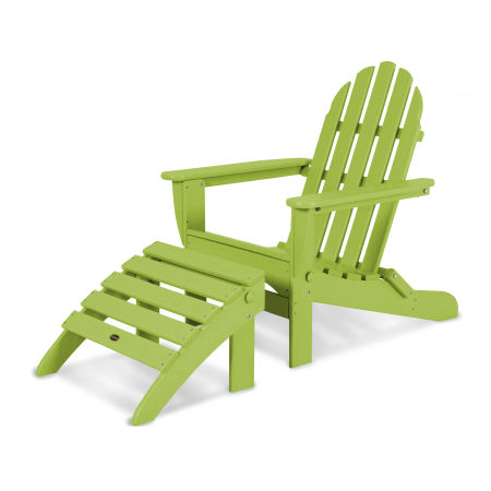 Classic Adirondack 2-Piece Set in Lime