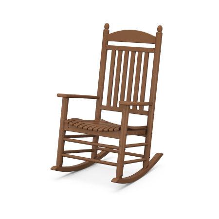 Jefferson Rocking Chair in Teak
