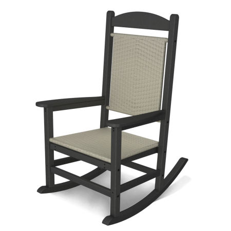 Classics Woven Rocker by Ivy Terrace