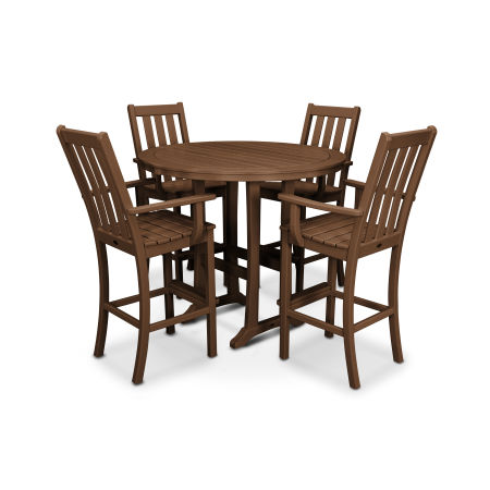 Vineyard 5-Piece Bar Set in Teak