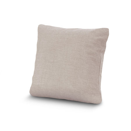 "20"" Outdoor Throw Pillow by POLYWOOD® in Cast Ash"