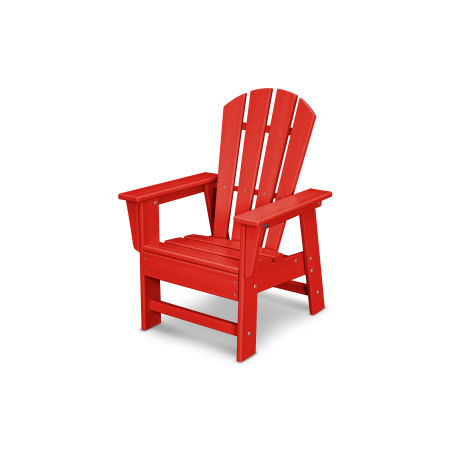 Casual Chair in Sunset Red