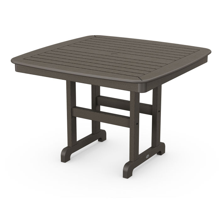 """Nautical 44"""" Dining Table in Vintage Finish"""