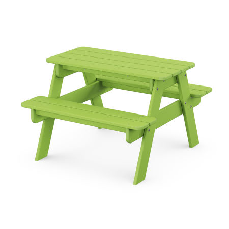 Kids Picnic Table in Lime