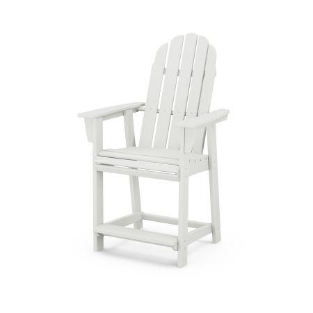 Vineyard Adirondack Counter Chair in Vintage White