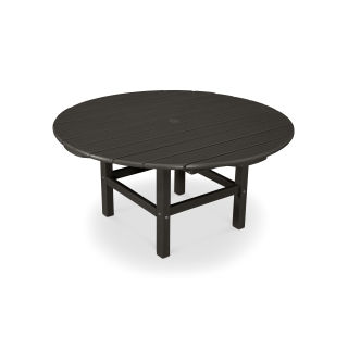"""Round 38"""" Conversation Table in Vintage Finish"""