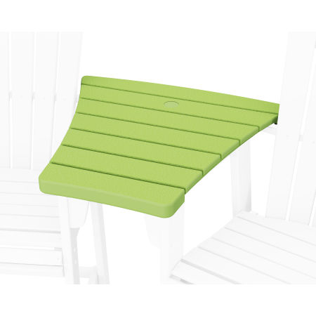 600 Series Angled Adirondack Dining Connecting Table in Lime