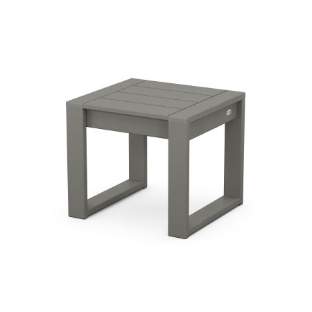 EDGE End Table in Slate Grey