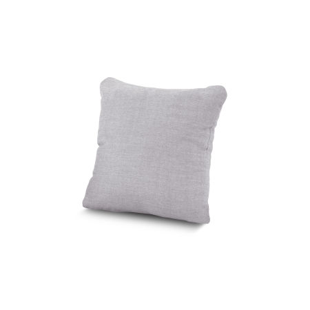 "16"" Outdoor Throw Pillow by POLYWOOD® in Granite"