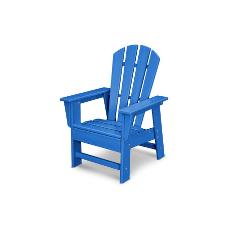 Casual Chair in Pacific Blue