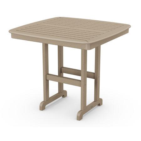 "Nautical 44"" Counter Table in Vintage Sahara"