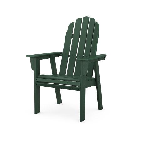Vineyard Adirondack Dining Chair in Green