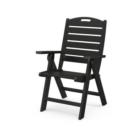 Nautical Highback Chair in Black