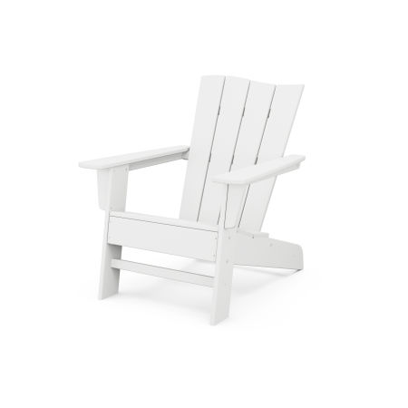 The Wave Chair Left in White