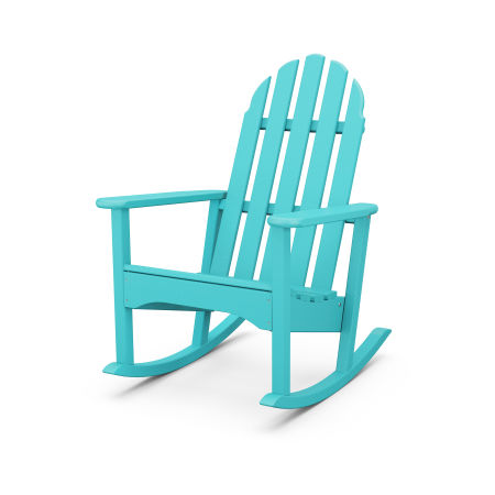 Classic Adirondack Rocking Chair in Aruba