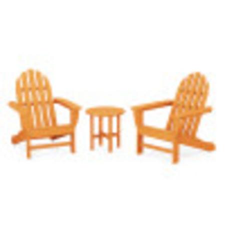 Classic Adirondack 3-Piece Set in Tangerine