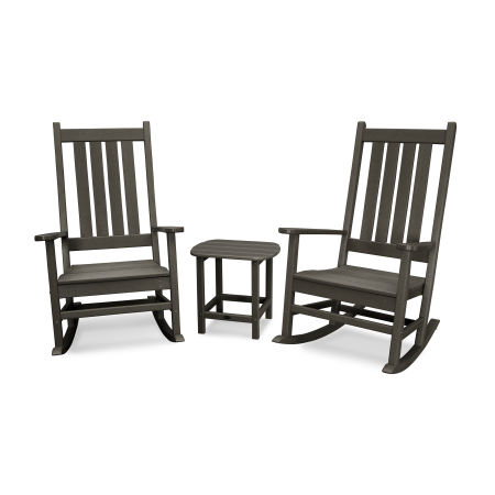 Vineyard 3-Piece Rocking Set in Vintage Finish