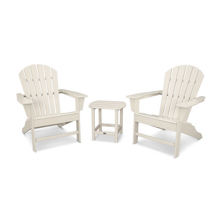 South Beach Adirondack 3-Piece Set in Sand