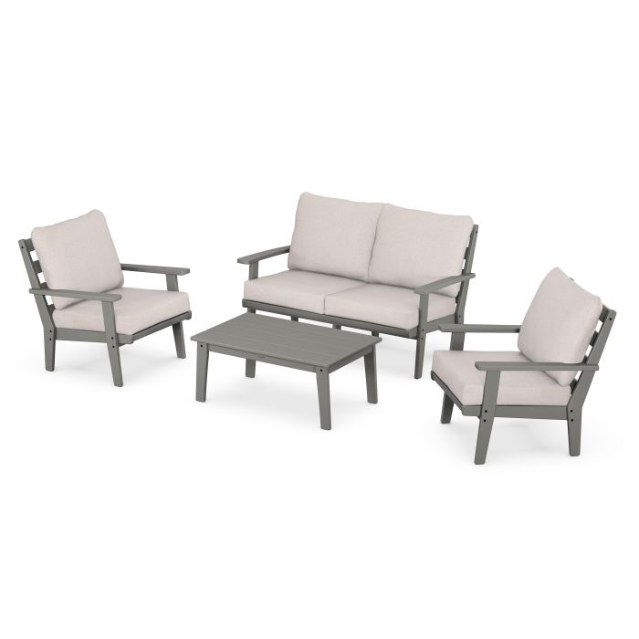 Grant Park 4-Piece Deep Seating Chair Set