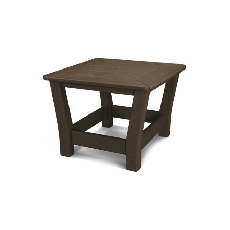 Harbour Slat Side Table in Mahogany