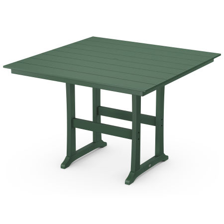 "59"" Bar Table in Green"