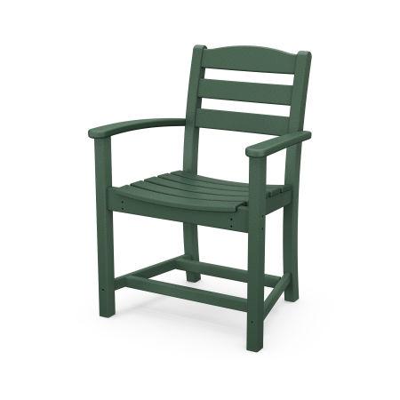 La Casa Café Dining Arm Chair in Green