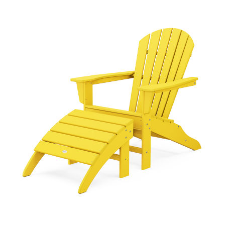 South Beach Adirondack 2-Piece Set in Lemon