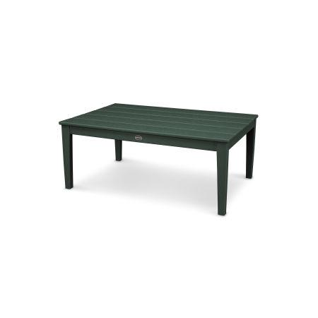 """Newport 28"""" x 42"""" Coffee Table in Green"""