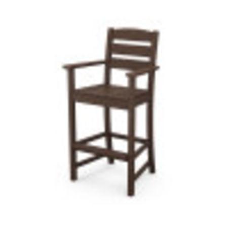 Lakeside Bar Arm Chair in Mahogany