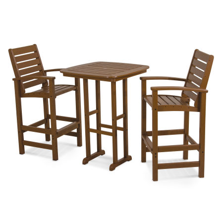 Signature 3-Piece Bar Set in Teak