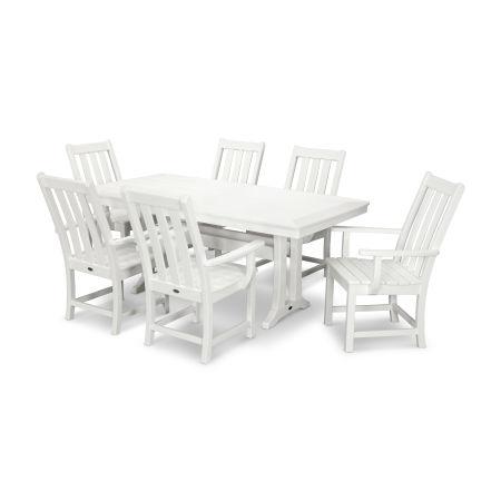Vineyard 7-Piece Dining Set in Vintage White