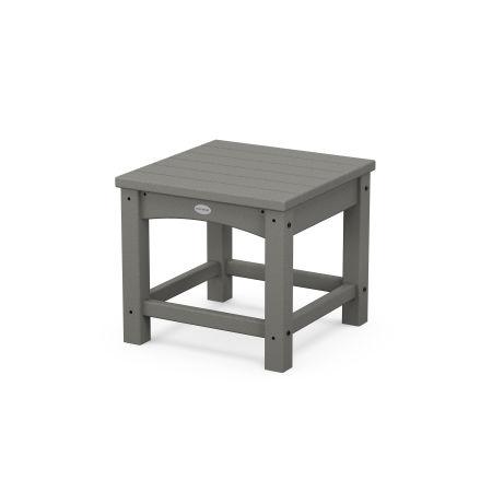 "Club 18"" Side Table in Slate Grey"