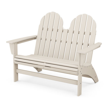 "Vineyard 48"" Adirondack Bench in Sand"