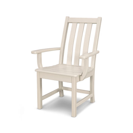 Vineyard Dining Arm Chair in Sand