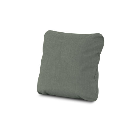 """18"""" Outdoor Throw Pillow in Cast Sage"""